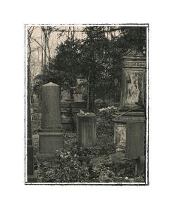 Jüdischer Friedhof Werden im Apirl2008